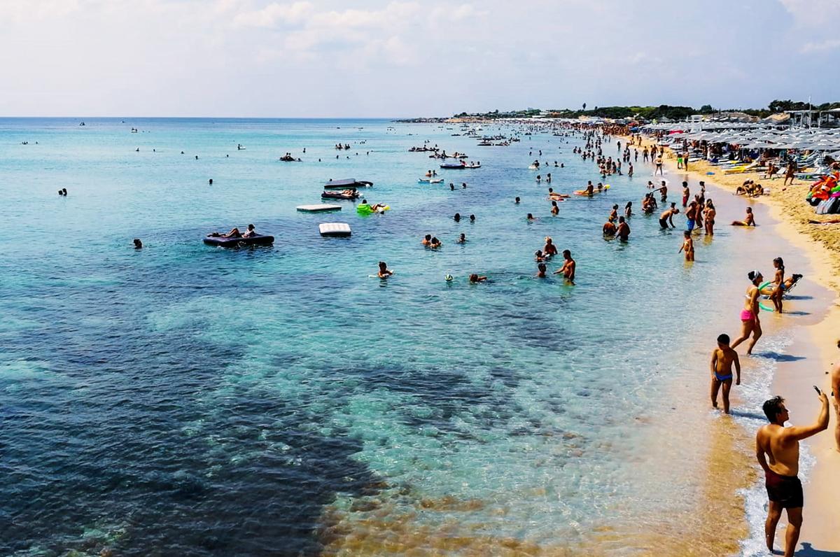 Porto Cesareo, 17 km di costa dalla sabbia bianca e dal mare turchese