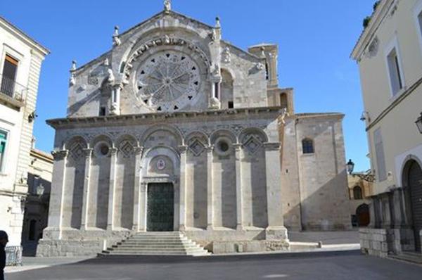 Expo 2020, la Puglia a Dubai con il rosone della cattedrale di Troia
