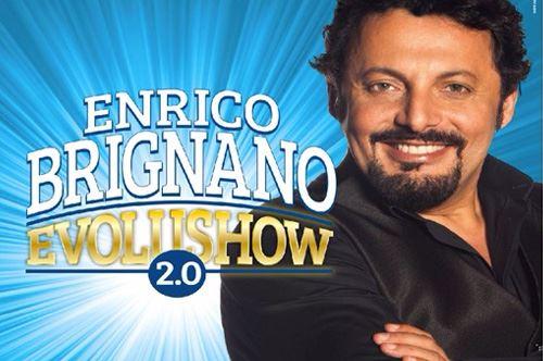 Evolushow 2.0. Spettacolo di Enrico Brignano