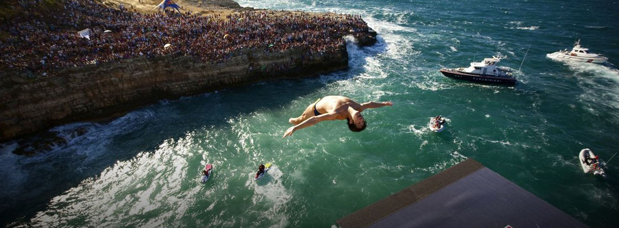 Polignano: Red Bull Cliff Diving