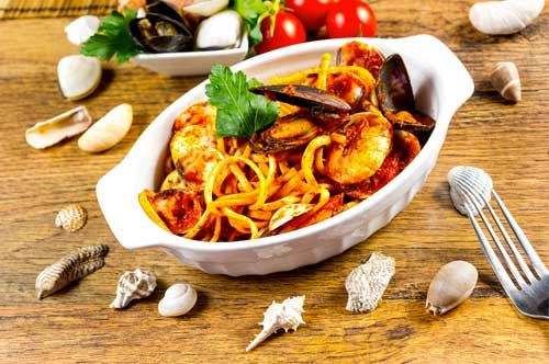 Spaghetti allo scoglio