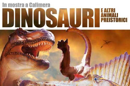 """""""Dinosauri"""". Mostra al Museo di Storia Naturale del Salento a Calimera"""