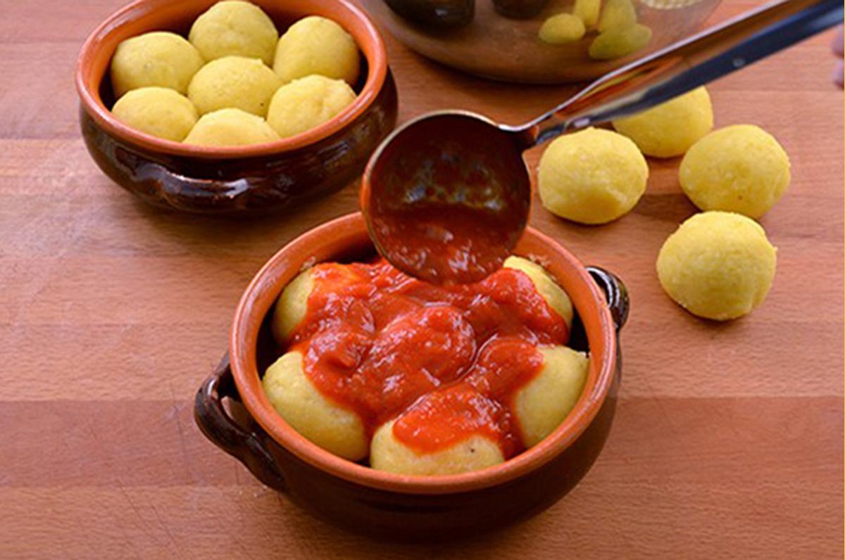 Cocule, polpette di patate