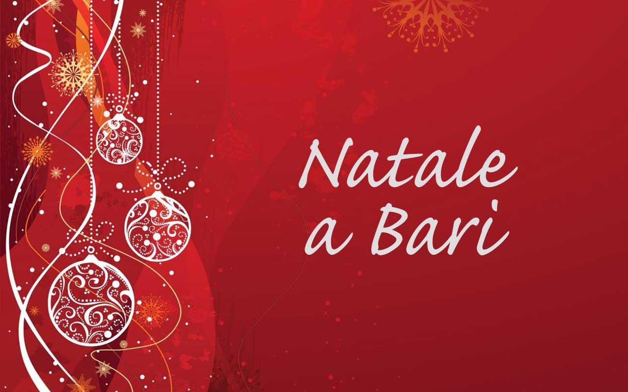 Natale a Bari, presentato il bando per gli eventi