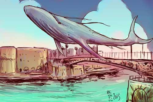 Gabriele Benefico, la mia Taranto a fumetti