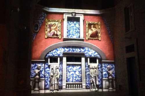 """Digital Xmas 2015"", il videomapping illumina Corato"