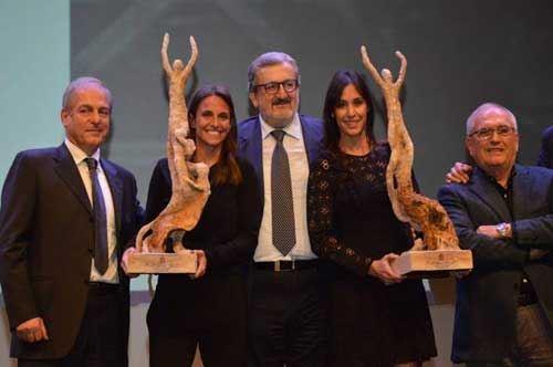 Flavia Pennetta e Roberta Vinci: le regine del tennis azzurro premiate a Bari