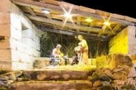 Presepe in Piazza Sant'Oronzo a Lecce, si accendono le luci