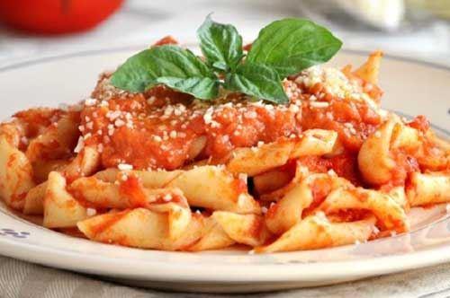 Lasagne 'ncannulate al pomodoro