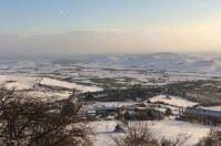 Neve e vento, la Puglia nella morsa del freddo: le foto