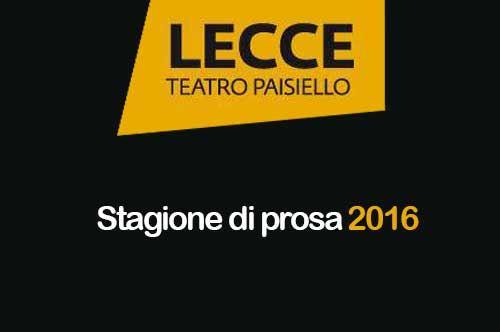 Programma Stagione Teatrale