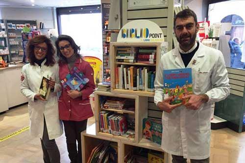 """""""BiblioCity"""", libri da sfogliare nei luoghi più impensati: primo step a Trani"""
