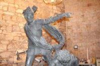 """La Disfida fa il """"lifting"""" al bozzetto di Fieramosca a Barletta"""