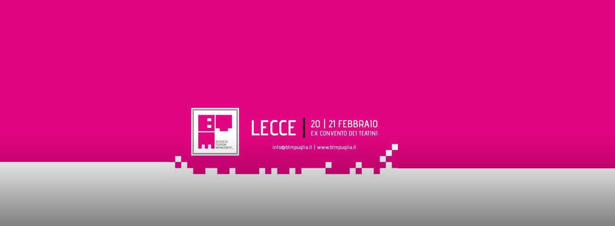 Lecce: Business Tourism Management  2016