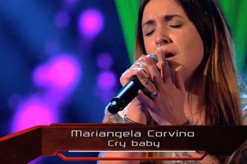 """The Voice"", Mary J Button da Foggia per inseguire un sogno"