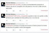 Xylella e difesa dell'olio, su Twitter gli allarmi di Emiliano