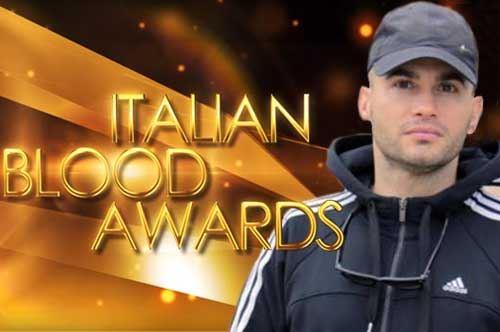 Italian Blood Award 2016, il barlettano Tommy Dibari tra i candidati alla vittoria