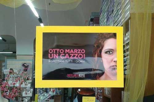 """""""Otto marzo un c…"""": a Mesagne la festa della donna diventa provocazione"""