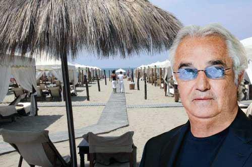 Turismo di lusso in Salento, firmato Flavio Briatore