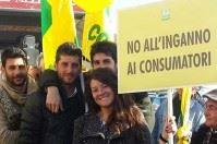 Bari, Coldiretti in piazza a tutela dell'olio di oliva