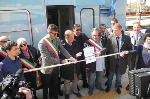 Legambiente, approdato a Barletta il Treno Verde 2016