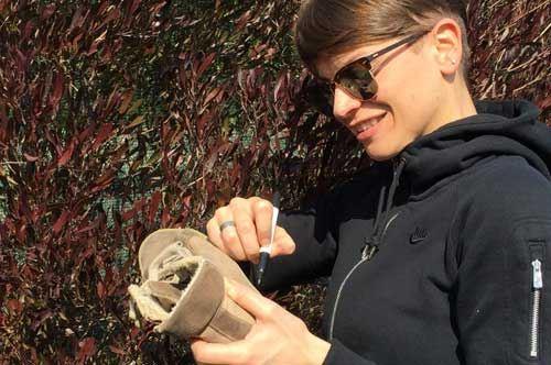 I piedi della Puglia a sostegno della beneficenza con Medici senza Frontiere
