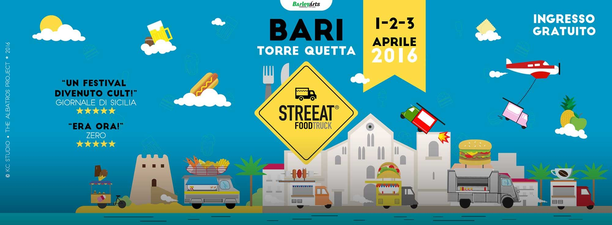 Torre Quetta: StreEat - Street Food Festival