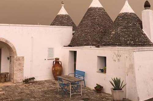 Vento dal deserto, Puglia avvolta dalla sabbia