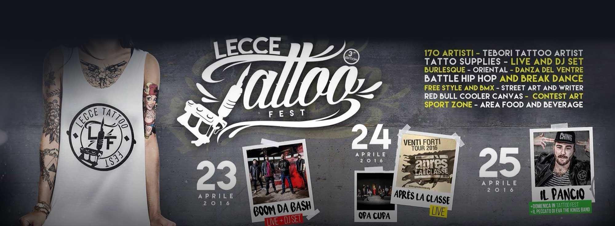 Lecce: Lecce Tattoo Fest 2016