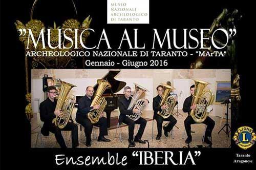 Musica al Museo con l'Ensamble IBERIA