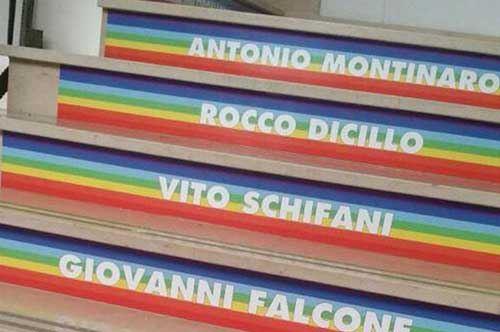 La scala della legalità, Calimera ricorda gli eroi vittime di mafia