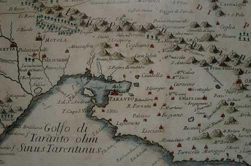Mappe e atlanti, la Terra d'Otranto rivive i fasti del '500 in una mostra