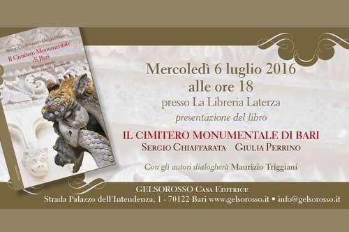 Il Cimitero Monumentale di Bari - Presentazione libro