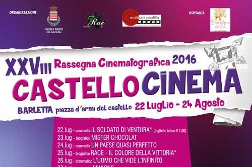 Castello Cinema 2016