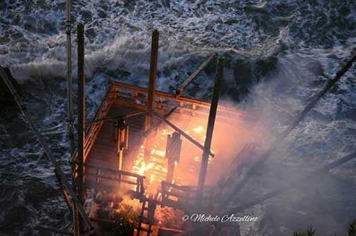 Trabucco in fiamme, Rodi Garganico si mobilita