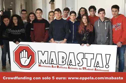 """""""Mabasta"""", Fast Up combatte il bullismo con gli studenti del Galilei-Costa di Lecce"""
