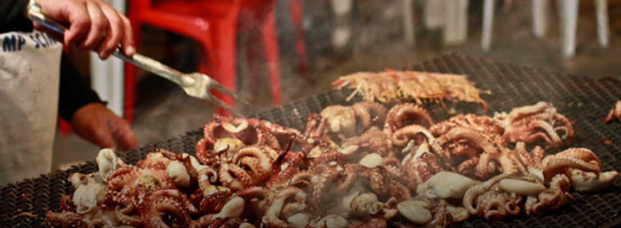 Mola di Bari: Sagra del polpo