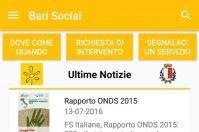 Bari Social, i servizi del capoluogo in un'app