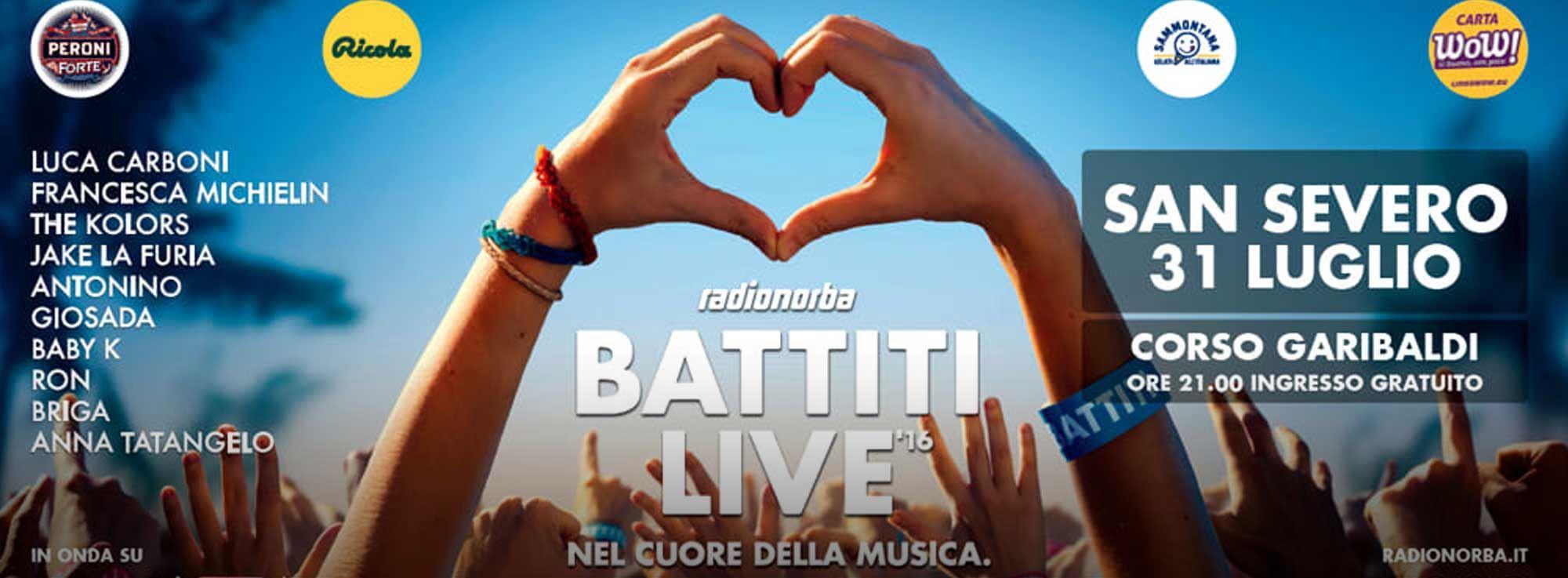 San Severo: Radionorba Battiti Live