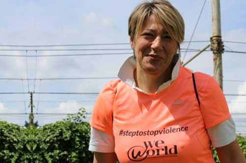 "Grazia Andriola, da Santa Maria a Santiago de Compostela per dire ""no"" alla violenza sulle donne"