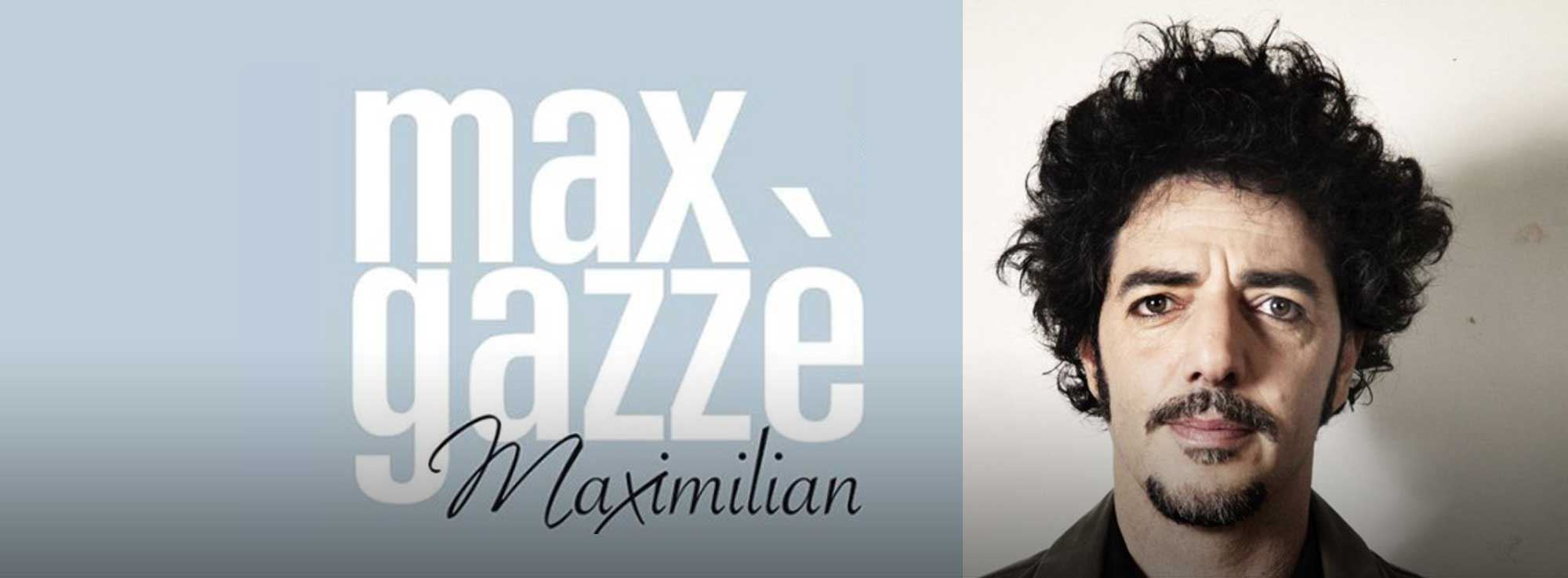Molfetta: Concerto Max Gazzè - Maximilian Tour