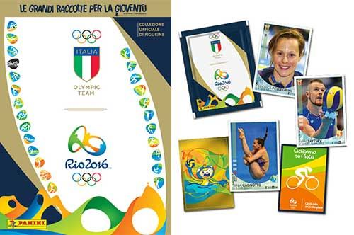Rio 2016, quattro atleti olimpici pugliesi tra le figurine Panini: le foto