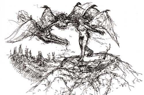 Sotterraneo, l'inferno dantesco rivive a Trani nei bozzetti di Porcelli