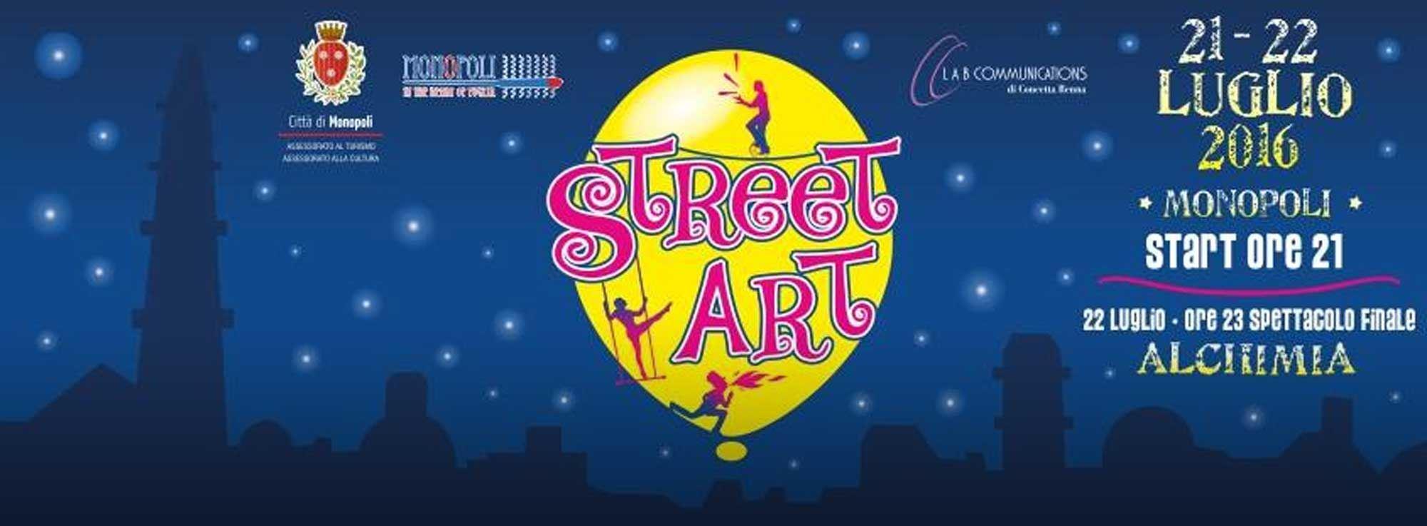 Monopoli: Street ART - Artisti di Strada