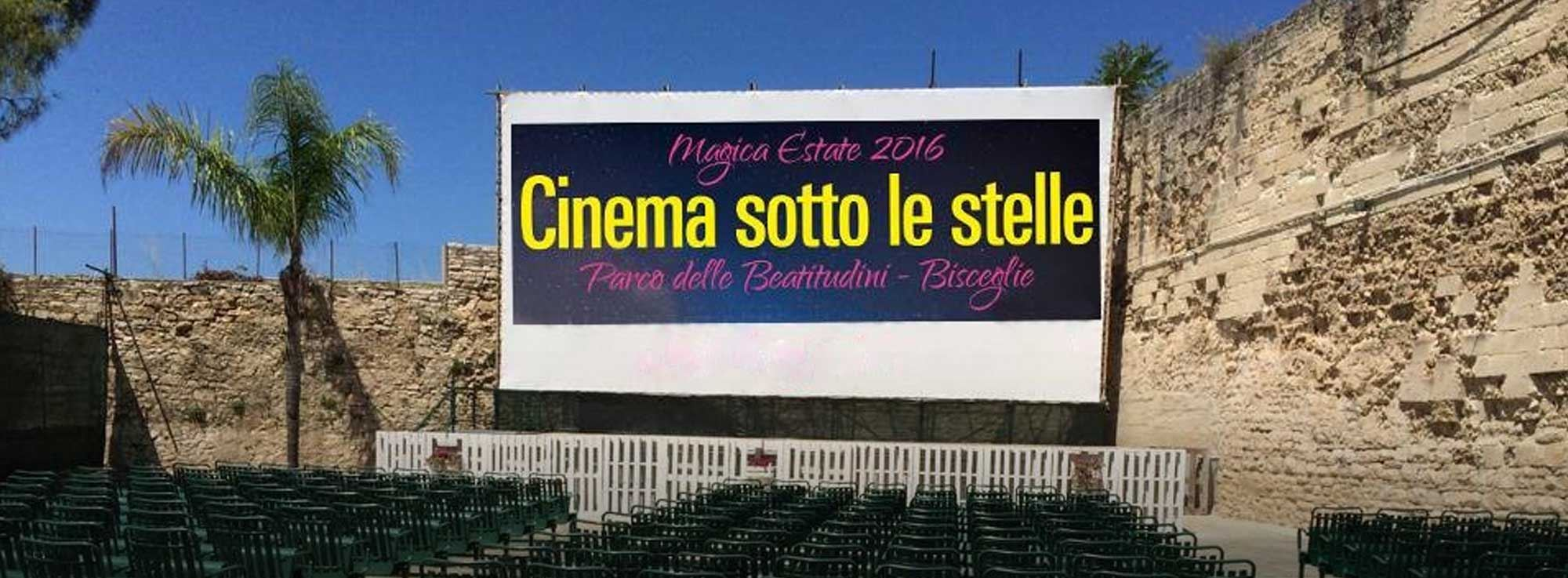 Bisceglie: Cinema sotto le stelle 2016