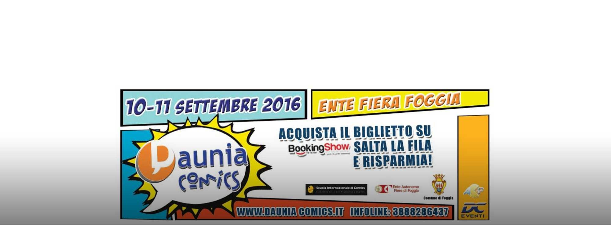 Foggia: Daunia Comics 2016