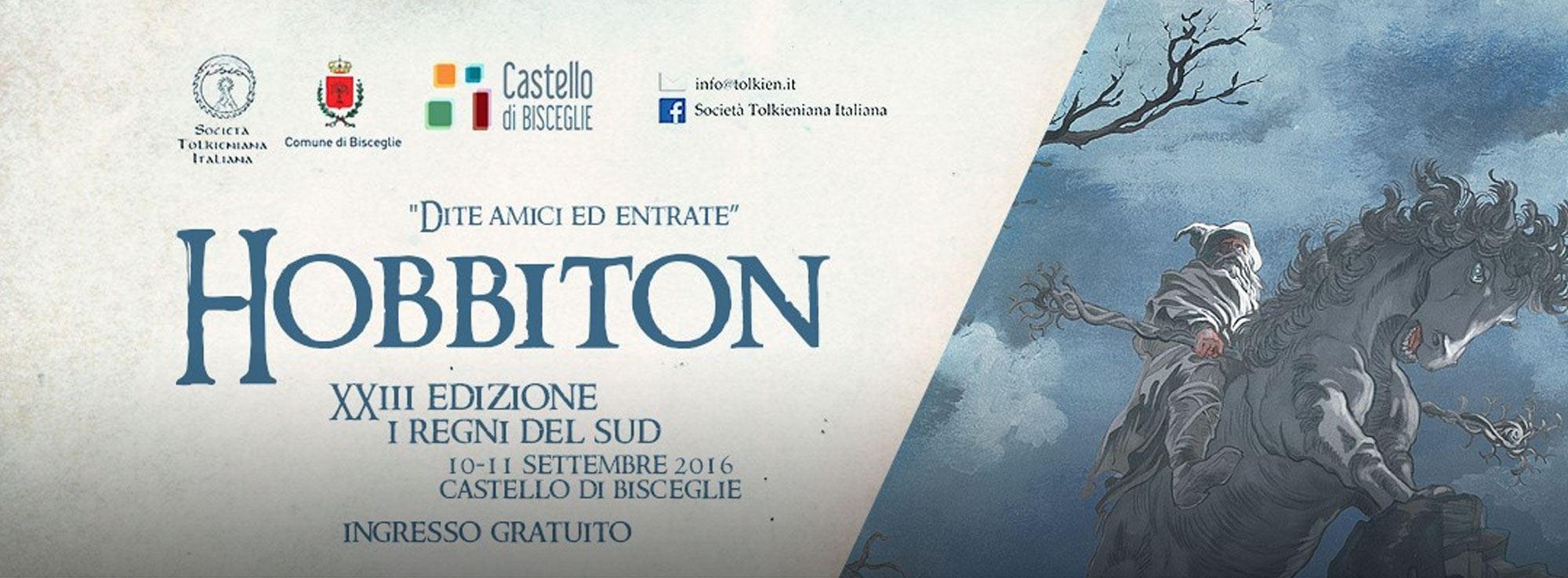 Bisceglie: Hobbiton, XXIII edizione - I Regni del Sud 2016