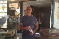 Bari, il ristoratore multato diventa testimonial per la differenziata