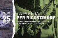 La Puglia per ricostruire! Concerto in piazza