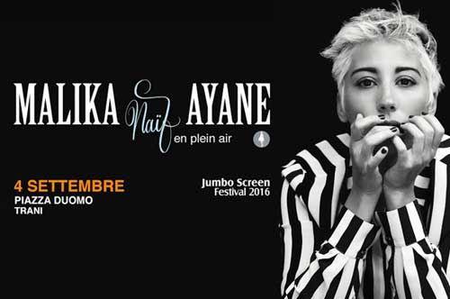 Malika Ayane in concerto - Naif en plein air Tour
